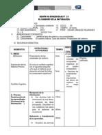 SESION aprendizaje  Nº 17 CARBONO CTA-3ro - copia