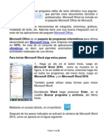 Manula de Microsoft Word 2010