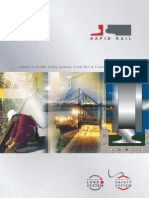 Rapid Rail crane rail installation and safety line installation doc
