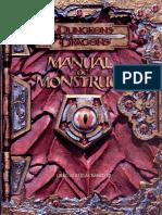 D D 3 ED.-manual de Monstruos