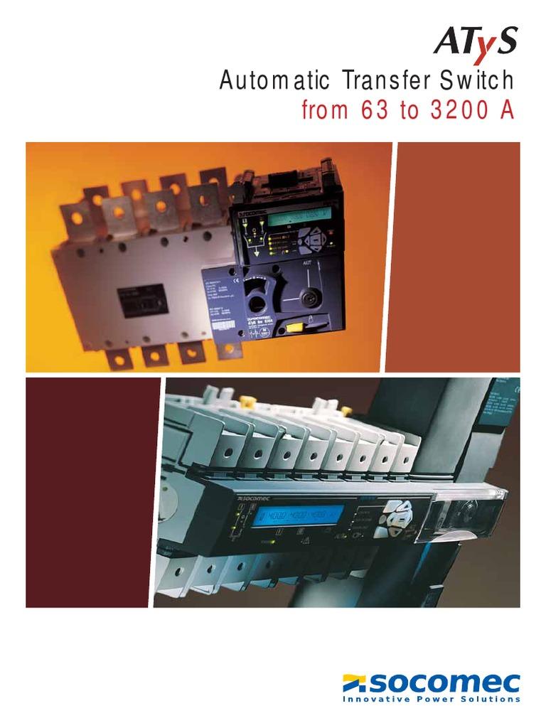 Pleasant Socomec Atysm Catalog En Power Supply Switch Wiring Database Pengheclesi4X4Andersnl