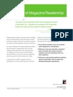 Value of Readership