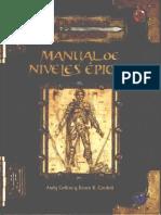 D D 3 ED.-manual de Niveles Epicos