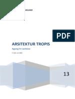 ARSITEKTUR TROPIS