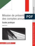 Mission de Presentation Des Comptes Annuels