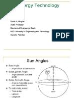Solar Radiation and Pyranometer