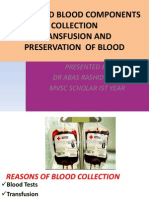 BLOOD AND BLOOD COMPONENTS COLLECTION.ppt
