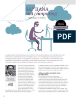 Sap Hana & Cloud Computing