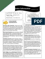 Greer High Senior Newsletter 9-16-2013