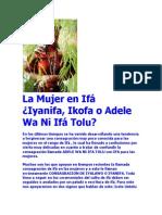 La Mujer en Ifá