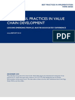 mR 143 - Successful Practices in Value Chain Development