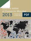 Informe Sobre Comercio Mundial 2013