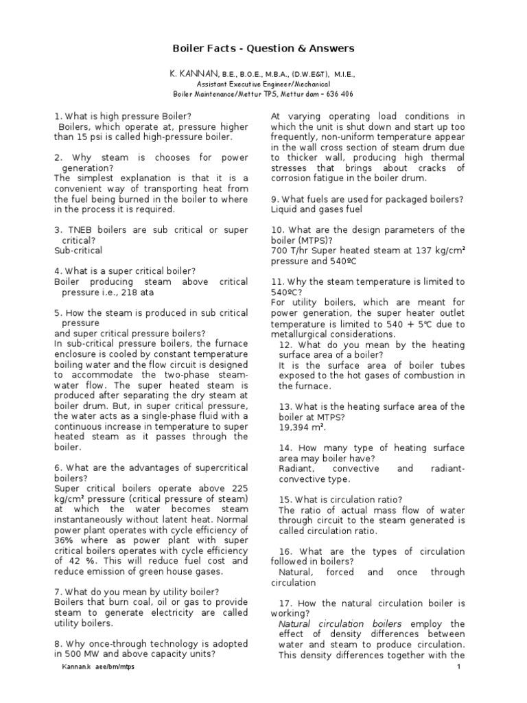 Boiler-Q-A   Boiler   Combustion