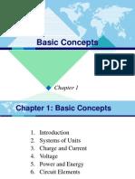 Basic Concepts Dasar Rangkaian Elektronika (DRE)