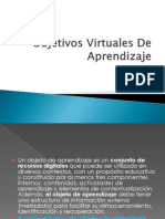 Objetivos Virtuales de Aprendizaje