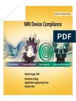 ANSYS Simulation of MRI Device for Compliance