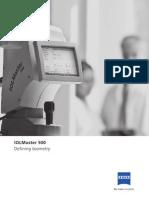 En Iolmaster 500 Defining Biometry