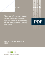 The role of currency swaps in the domestic banking system and the functioning