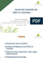 5 - Situación Actual de la Gestión de RAEE en Colombia - Carlos Hernández