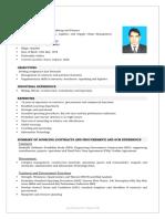 Resume - Divyanshu Dayal