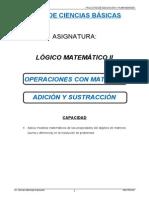 Matrices Parte 2 Adicion Sustraccion