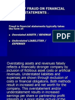 Effect of Fraud on Financial Statements01