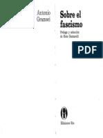 Antonio Gramsci -  Sobre el fascismo .pdf