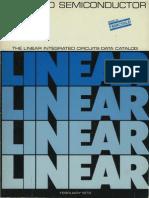1973 Fairchild Linear Integrated Circuits Data Catalog