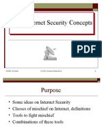 Basic Internet Security Concepts