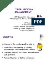Hyperlipidemia Self Management