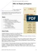 Traduções da Bíblia em língua portuguesa – Wikipédia, a enciclopédia livre