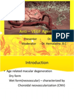 Anti – VEGF Agents