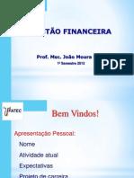 Gestão Financeira 2013_01 resumo