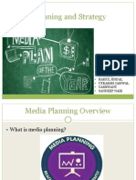Media Planning and Strategy IMC Presentation