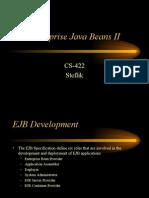 Enterprise Java Beans II
