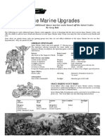 Space Marine Upgrades