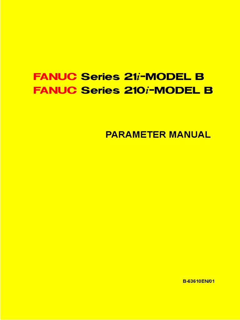 Fanuc 21 is B Parameters Manual | Bit Rate | Parameter (Computer Programming )