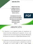 ABSORCION -EXPOSICIÓN