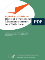 A Pocket Guide to Blood Pressure Measurement in Children