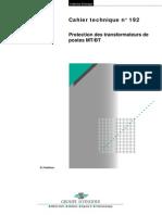 Protection Des Transformateurs MTBT(Full Permission)