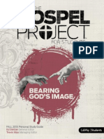 Gospel Project Unit 1 Session 5 Personal Study Guide September 29, 2013