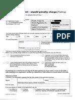 Form TE9 Witness statement