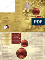 Drummmond Hotel Christmas Brochure 2013
