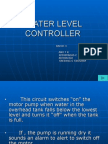 Water Level Controller Datailed