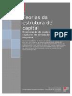 Tema 4 Teorias Da Estrutura de Capital