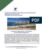 Inscripcion y Tributacion de Los Vehiculos Maritimos-Abril-2013