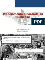 Planejamento e Controle Da Qualidade