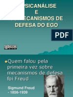 Ego Mecanismo de Defesa