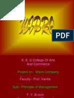 Wipro Powerpoint
