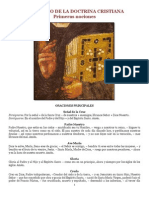 Catecismo de La Doctrina Cristiana Primeras Nociones